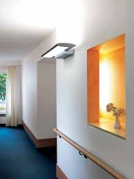 terrific hallway wall light fixtures mounted on white wall paint