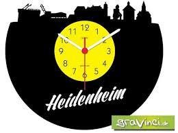 heidenheim deutsche skylines vinyl schallplattenuhr kaufen saturn