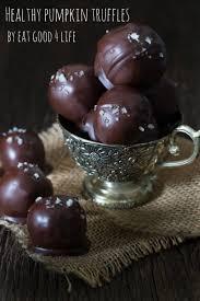 Healthy Chocolate Pumpkin Desserts by Pumpkin Truffles