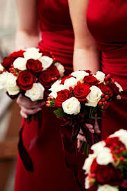 Red And White Wedding Bouquets Ideas Best 25 Bridesmaid