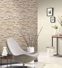 16 wohnzimmer ideen steintapete tapete steinoptik tapete