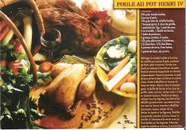 poule au pot lyon recette recette gourmande la poule au pot henri iv villecomtal sur