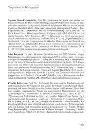 Kukkonen Karin And Klimek Sonja Verzeichnis Der Beitragenden Ebook 2011 978 3 8329 6719