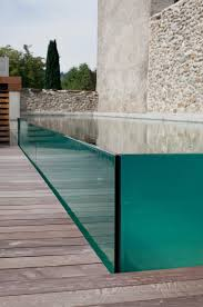 Excelsior Glass Swimming Pool By Piscines Carre Bleu