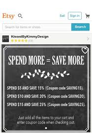 Etsy Coupon Codes Canada 2018 / Freecharge Coupon Code ... 8 Etsy Shopping Hacks To Help You Find The Best Deals The Why I Wont Be Using Etsys Email Coupon Tool Mriweather Pin On Divers Fashion Get 40 Free Listings Promo Code Below Cotton Promotion Code Fdango Movie Tickets Press Release Write Up July 2018 Honolu Star Bulletin Newspaper Sale Prettysnake Codes Shopify Vs Should Sell A Marketplace Or Website Create Coupon Codes Handmade Community Amazon Seller Forums Cafepress Vodafone Deals Sim Only How To A In 20 Off At Ecolution Store In Coupons January 2019
