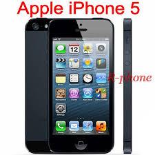 Unlocked Original Apple iPhone 5 ROM 16GB 32GB 64GB Cellphones