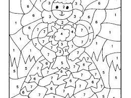 Really Hard Coloring Pages Color By Number Math