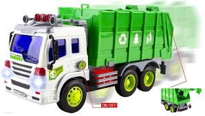 Premium Garbage Truck Toy For Boys By CifToys|Cool Trash Truck Game ...