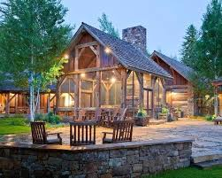 Rustic Ranch Home Homes Plans Baddgoddess
