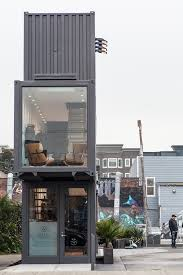 100 Shipping Containers San Francisco S Container Village Grows Up Adds