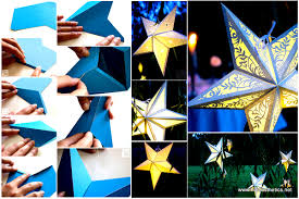 Mindblowingly Beautiful Star Shaped DIY Paper Lanterns That Will Beautify Your Special Moments Printables Included