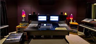 The Control Room In Recording Studio At DBAR Productions