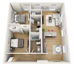 100 Attic Apartment Floor Plans Magnolia Loft 3D Plan FresHome In 2019