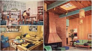 1950s Home decor Dynamic and vibrant designs influenced by
