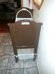Target Eddie Bauer High Chair by Eddie Bauer Bassinet Good Condition Have Bedding Just Needs A