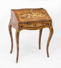 bureau napoleon 3 rosewood louis xv style marquetry bureau ref no 05771