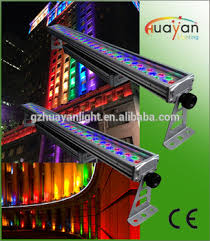 dj lights rgbw led color wall washer 72x3w led wall wash led