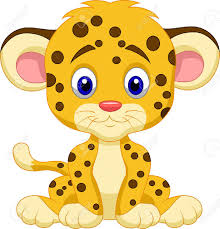 Baby Leopard Cartoon Royalty Free Cliparts Vectors And Stock