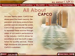 Capco Tile And Stone by Cd Rom Training Central Florida Training