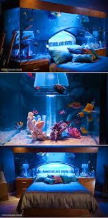 Star Wars Fish Tank Decorations by Fish Tank Aquarium Bed Might Be Coolest Ever Lets You Sleep With