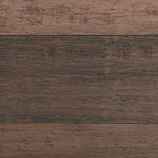 Stranded Bamboo Flooring Hardness by Home Decorators Collection Hand Scraped Strand Woven Terra Cotta 3
