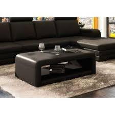 canap d angle cuir noir canapé d angle cuir noir avec table basse achat vente canape angle