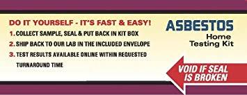amazon com asbestos test kit 1 pk 5 bus days schneider labs