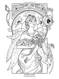 Image Result For Fairy Coloring Pages Printable