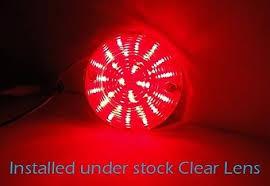 Harley Davidson Light Bulbs by 2 Red Smd Led 1156 Rear Turn Signal Panel Light Bulb For Harley