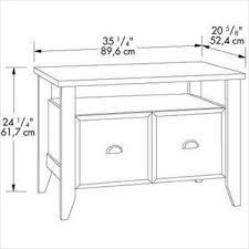Sauder Shoal Creek Dresser Jamocha Wood Finish by Creek Utility Stand Jamocha Wood Sauder Furniture 409944