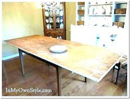 Table Extension Pads Dining Room Extender