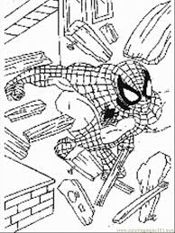 Spiderman Coloring Pages 016s Page Download