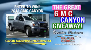 100 Win Truck The Great GMC Canyon Giveaway KVEW