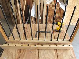 Cheap Metal Balusters For Deck : Doherty House - Advantages Metal ... How To Replace Banister Newel Post Handrail And Spindles On A Banister Attachment To Install A Wooden Handrail On Split 42 White Wood Stair Railing Modern Home Designs Steep Stairs Rails Iron Balusters August 2010 Deckscom Deck Railings Installing Baby Gate Without Drilling Into Insourcelife Cooper Stairworks Tips Techniques Using Post Hdware For Iron X Installation Animation Youtube Chaing Your Wrought Fancy