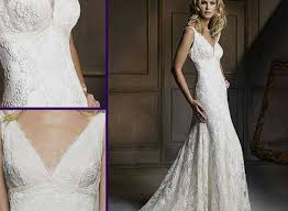 Vintage Lace Country Style Wedding Dresses Images