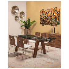 Valencia Brown Extendable Dining Table Alternate Image 2 Of 9 Images