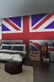 chambre des angleterre spécialiste français papier peint londres drapeau anglais salon