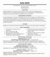 Nurses Resume Sample Philippines For Nurse Resumes 7 Registered