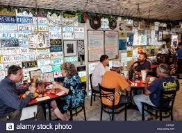 Florida Keys Key Largo Mrs Mac s Kitchen restaurant inside