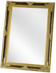casa padrino barock spiegel schwarz gold 78 x h 108 cm garderoben spiegel wohnzimmer spiegel barockmöbel