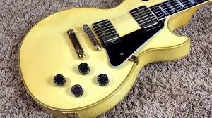 100 Gibson Custom Homes Troglys Guitars 1997 Les Paul Aged White Yamano