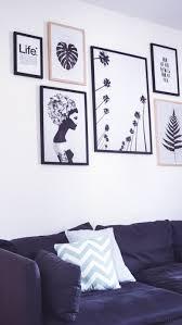 wohnzimmer inspiration neue botanical gallery wall in