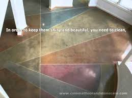 how to restore glassy shine to marble tiles