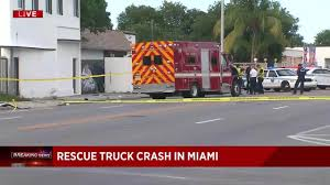 Car Collides With Fire Rescue Truck In Miami, Authorities Say Dade Corners Market Place Truck Stop Party Youtube Miami Ambulance Fire Truck Collision Five New Summer Brunches In To Try This Weekend Indiana Jack And The Stop Express Naked Woman Stops Traffic After Jumping On Car Hialeah Police Near Me Trucker Path Miamidade Libraries Twitter Were At Springintowellness Florida Fl Metrobus Public Transportation Bus Pilot Flying J Travel Centers Introducing The 595 For Saturdays Family