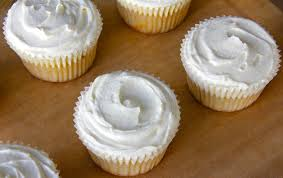 White Bean Vanilla Cupcakes With Coconut Cream Icing