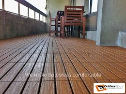 Balcony Flooring PlasticRubberWPC Deck Tiles OUTDOOR FLOORS Teak Outdoor In Waterproof Australia