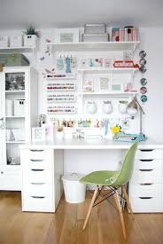 Ikea Wall Desk Unit Craft Rooms Organizing Ideas From Real Craft