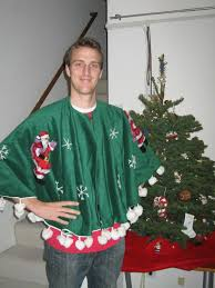 Picture Of An Embellished Tree Skirt Instead Ugly Sweater