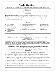 Resume Examples For Grocery Store Cashier Best Of Sample