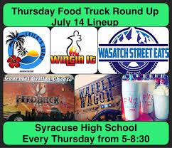 100 Food Trucks Utah Wasatch Eats Syracuse Davis County
